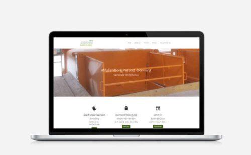 Website für Abfallwirtschaft Wildschönau