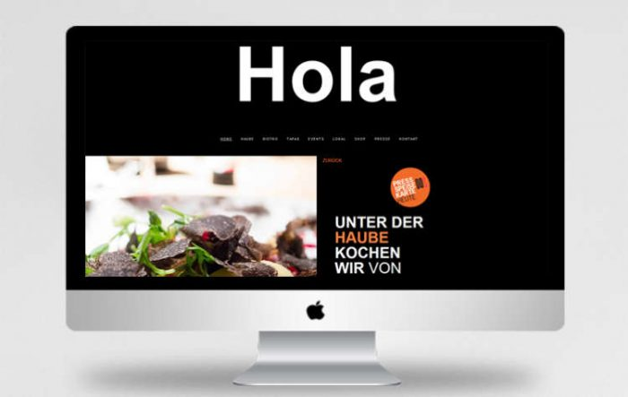 Webdesign - Restaurant DOS