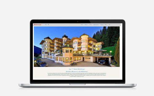 Referenz wildweb.at - Hotel Silberberger Wildschönau